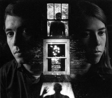 Man & Woman By Window