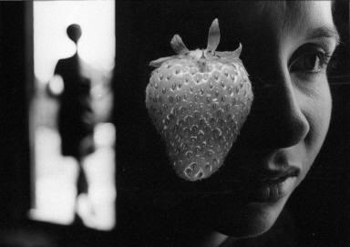 Woman & Strawberry