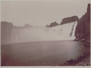 Shoshone Falls, from below