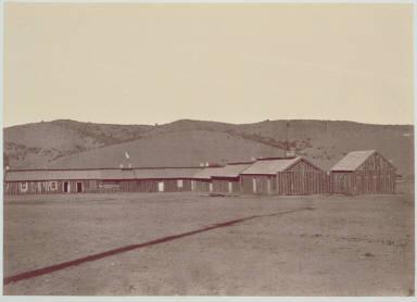 Quarter Master building at Fort Whipple