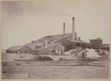 Meadow Valley Mining Co's Works, Dry Valley, Nevada.