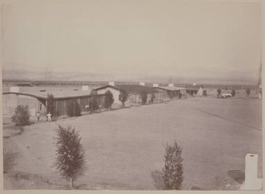 Soldier's Quarters, Camp Mohave (sic), A. T.