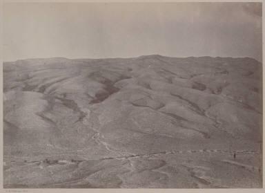 Eroded Strata, near Cottonwood Springs, Nev.