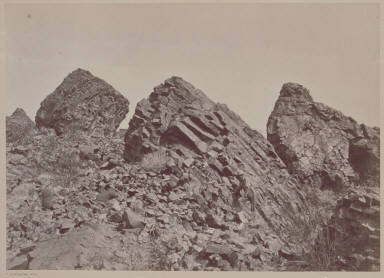 Columnar Basalts, Mouth of Grand Wash