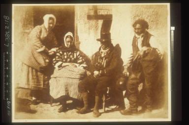 Mrs. Logan, Mrs. Seton & Two Unknown Men, Newhaven