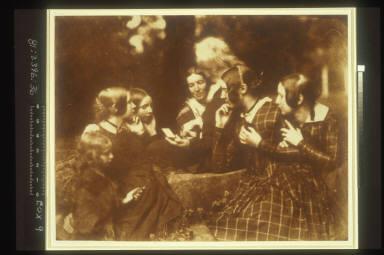 John Henning with 6 Women & Girls including Margaret McCandlish