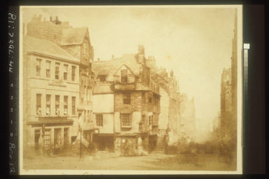 John Knox's House on High Street