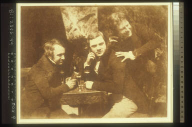 James Ballantyne, Dr. George Bell, and D.O. Hill
