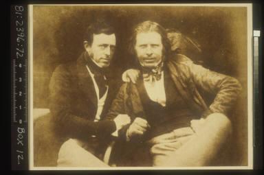 Portrait of Peter Scott Fraser and David Octavius Hill