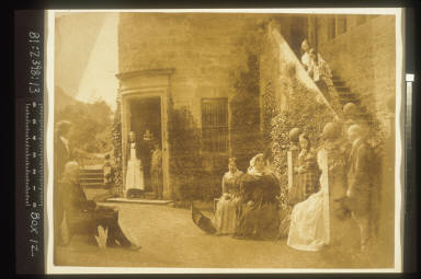 Group Portrait at Bonaly Towers