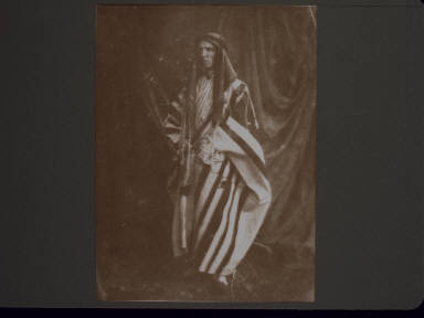 Dr. Wilson in Arab Costume