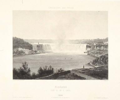 Niagara. Chute Du Fer a Cheval