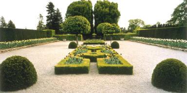Formal Garden, Horticulture School, Niagara Falls, Ontario