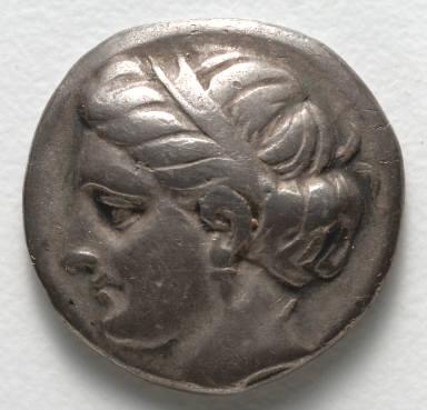 Drachma: Female Head (obverse)