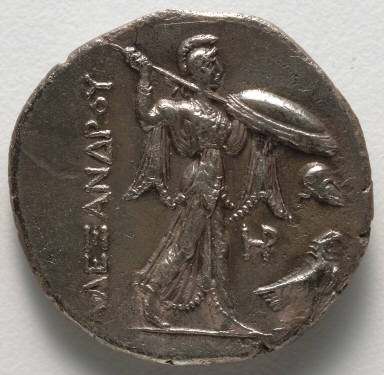 Stater: Athena and Eagle (reverse)