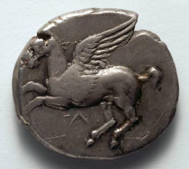 Corinthian Stater: Pegasus (obverse)