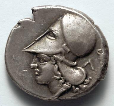 Corinthian Stater: Athena (reverse)