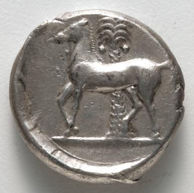 Tetradrachm: Persephone (reverse)