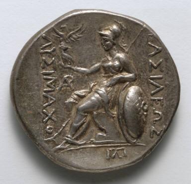 Tetradrachm: Athena (reverse)