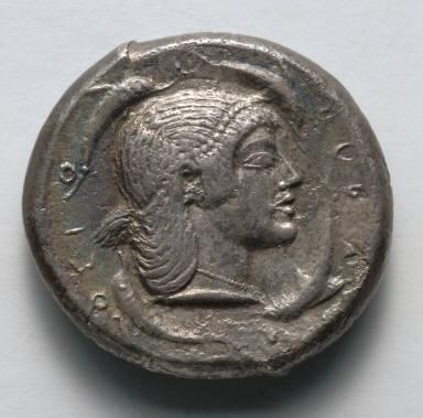 Tetradrachm: Female Head (reverse)