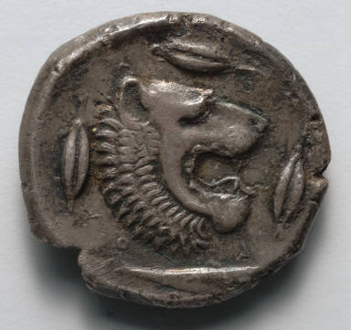 Tetradrachm: Lion (reverse)