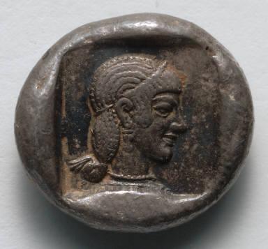 Drachm: Aphrodite (reverse)