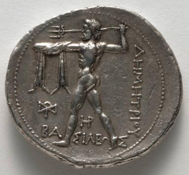 Tetradrachm: Poseidon (reverse)