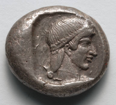 Drachm: Head of Onidian Aphrodite (reverse)