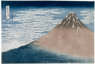 Fuji in Clear Weather (from the series Thirty-six Views of Mt. Fuji)