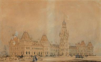 Design for Parliament Buildings, Ottawa