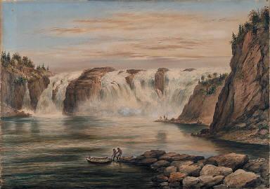 Chaudière Falls on the Chaudière