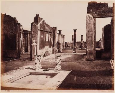Pompeii. House of Cornelius Ruffus, the Atrium