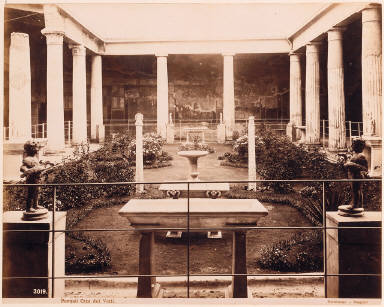 Pompeii. The New Baths
