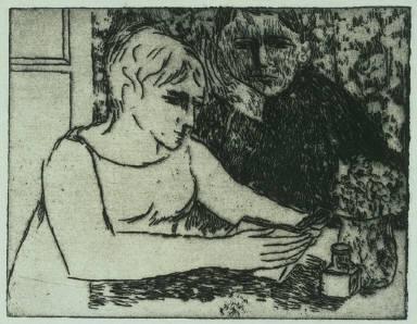 Self-portrait and Martin