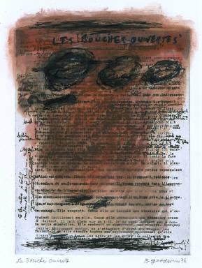 Gilbert's Manuscript Three: Les bouches ouvertes