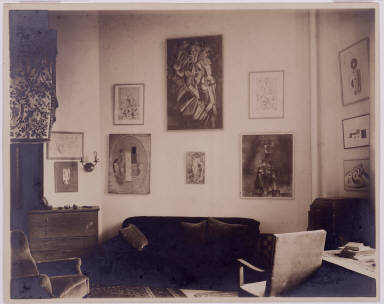 Living Room of New York Apartment of Louise and Walter Arensberg (Northwest Corner)