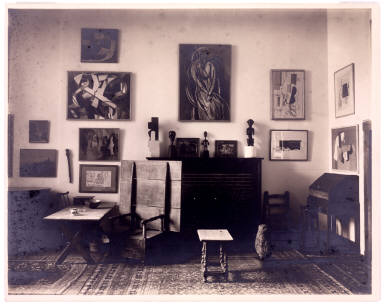 Living Room of New York Apartment of Louise and Walter Arensberg (Southeast Corner)