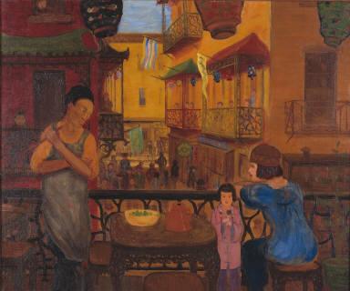 Chinatown Balcony