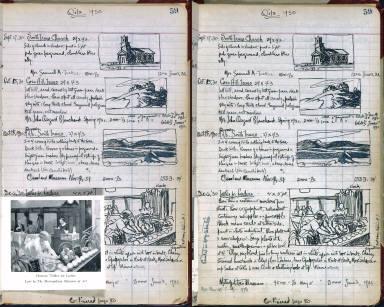 Artist's ledger - Book I: P. 59