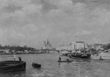 View on the Seine, Paris