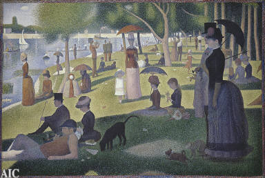 A Sunday on La Grande Jatte -- 1884