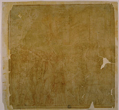 Study for the Triumphs of Julius Caesar: Canvas No. I