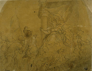 Study for Venice, Crowned by Victory, Receiving Her Subject Peoples