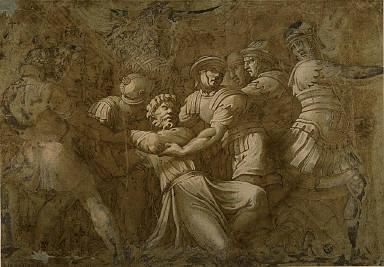 Roman Soldiers Arresting Saint Peter(?)