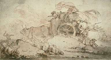 [The Stalled Cart, Cart in a Storm, The Oxcart (Une Charrette), The Storm]