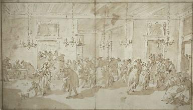 [Il Ridotto, Il Ridotto (The Masked Ball), The Masked Ball, Scene in a Ballroom]
