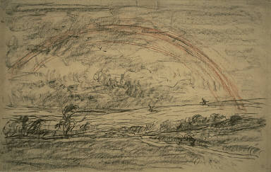 [Landscape with a Rainbow, Rainbow]
