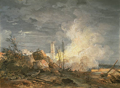 Fire in the Port
