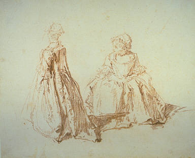 [Study of Two Small Girls, Two Small Girls, Two Studies of a Young Girl, One from the Back, One Seated, Final Published Work: The Dance Between the Two Fountains, Dresden]