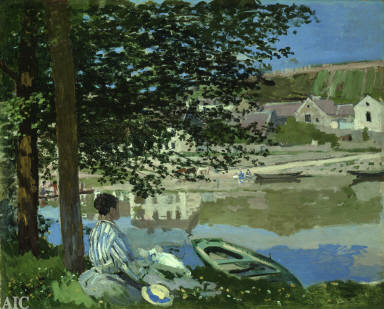 On the Bank of the Seine, Bennecourt
